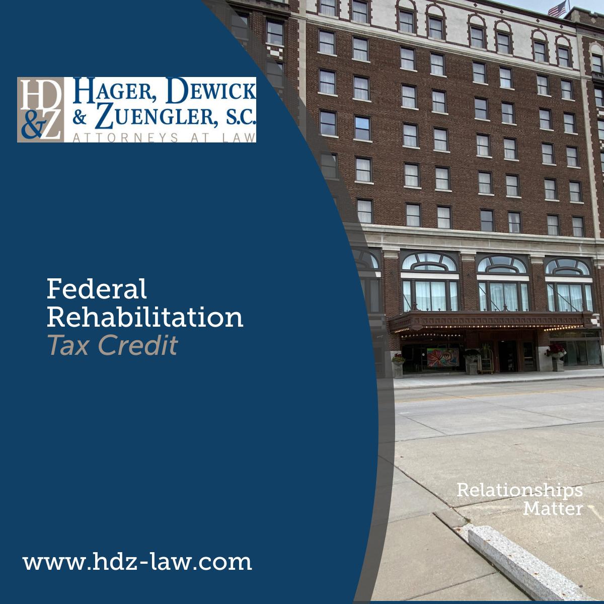 HDZ Federal Rehab Tax Credit