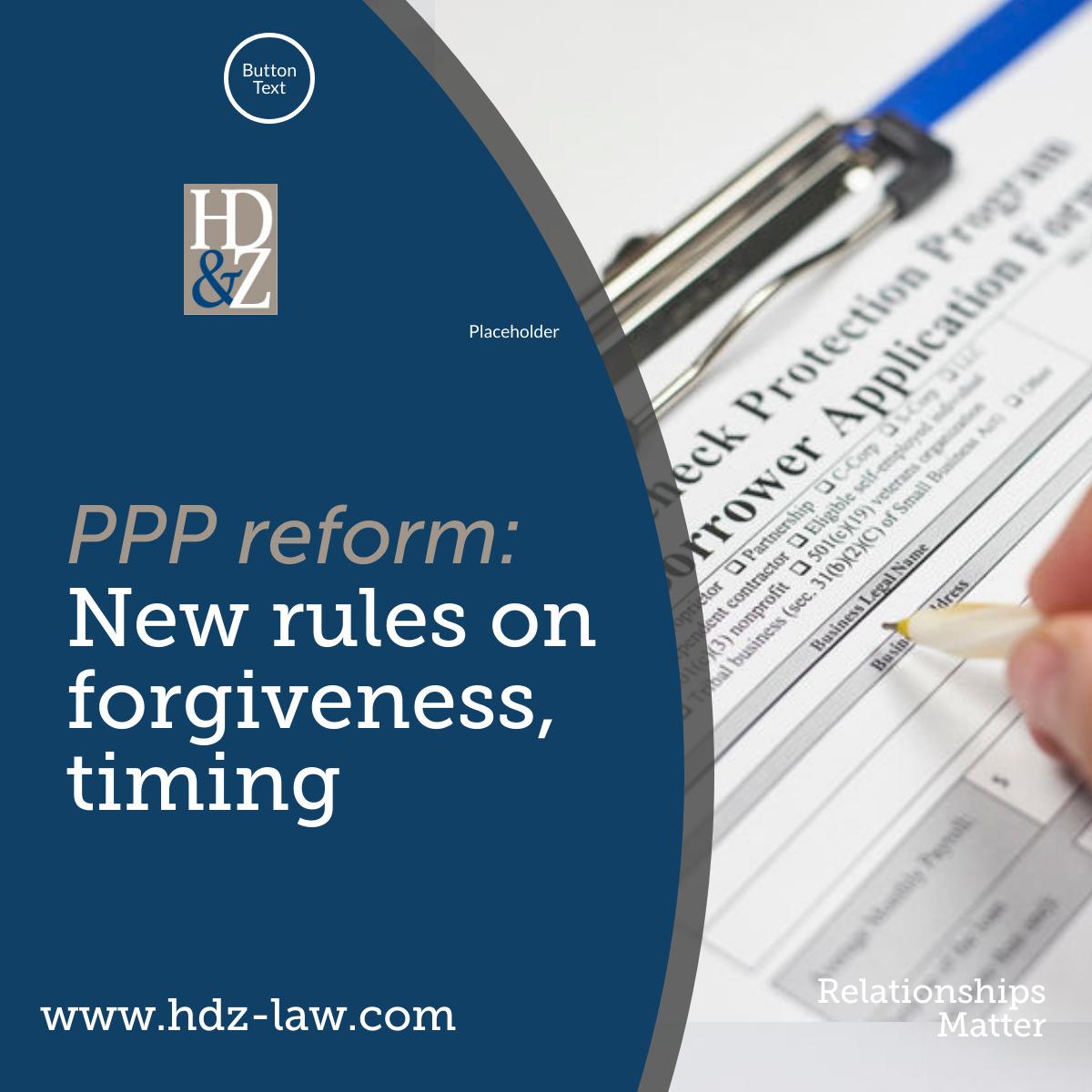 HDZ PPP Reform